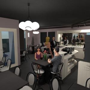 foto cucina illuminazione caffetteria idee