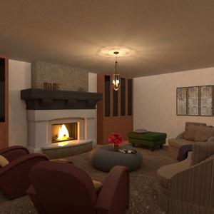 photos meubles décoration salon eclairage idées