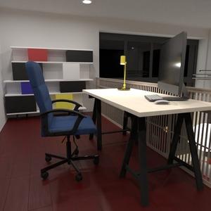 nuotraukos baldai dekoras biuras apšvietimas studija idėjos