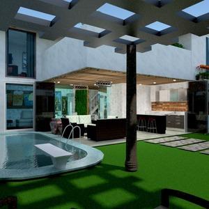 fotos casa terraza muebles exterior paisaje arquitectura ideas