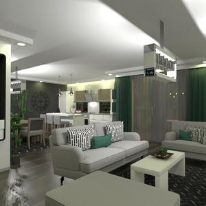 идеи квартира дом гостиная кухня столовая идеи