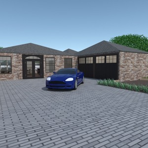 fotos casa bricolaje garaje exterior paisaje arquitectura ideas