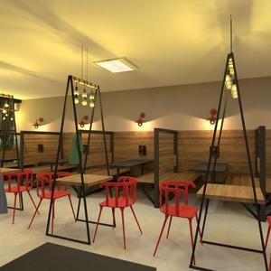 fotos muebles decoración despacho iluminación cafetería ideas