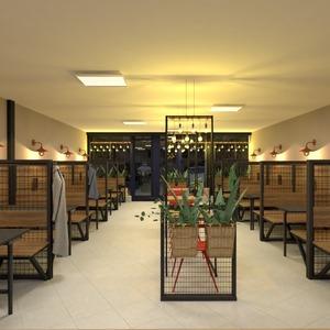 fotos muebles exterior iluminación reforma cafetería ideas