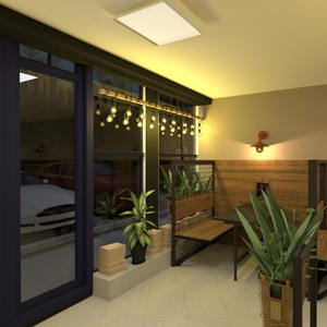 fotos muebles decoración exterior iluminación cafetería ideas