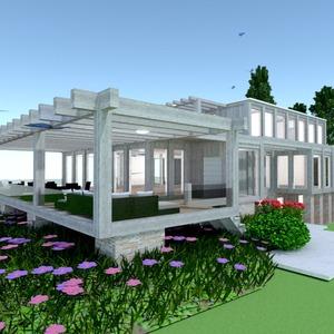 fotos casa varanda inferior paisagismo arquitetura ideias