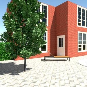 fotos casa área externa paisagismo arquitetura ideias
