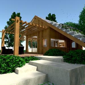fotos casa varanda inferior faça você mesmo paisagismo arquitetura ideias