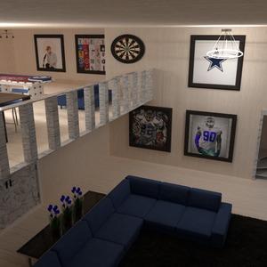 photos décoration diy salon garage eclairage idées