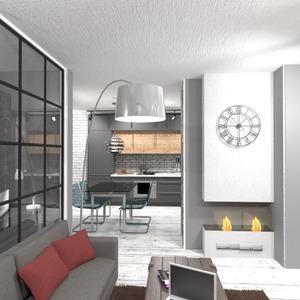 foto appartamento cucina sala pranzo monolocale idee