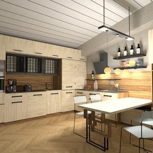 фото квартира кухня освещение идеи