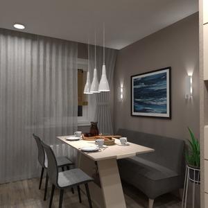 nuotraukos butas namas baldai virtuvė valgomasis idėjos