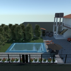 fotos casa terraza exterior reforma paisaje ideas