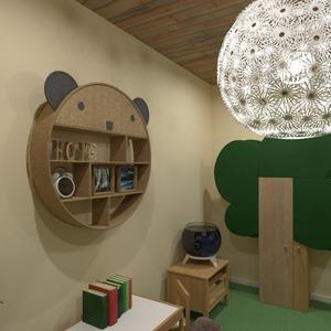 fotos muebles decoración habitación infantil iluminación ideas