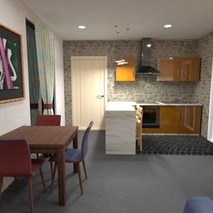 photos apartment living room kitchen lighting renovation ideas