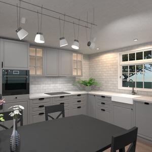 nuotraukos butas namas virtuvė apšvietimas valgomasis idėjos