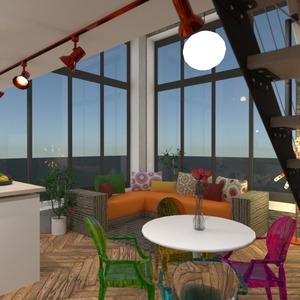 fotos apartamento quarto cozinha escritório sala de jantar ideias