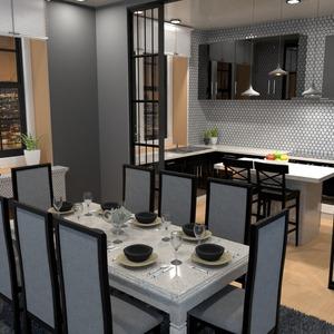 fotos apartamento decoração cozinha paisagismo sala de jantar ideias
