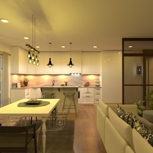 photos apartment living room kitchen lighting ideas