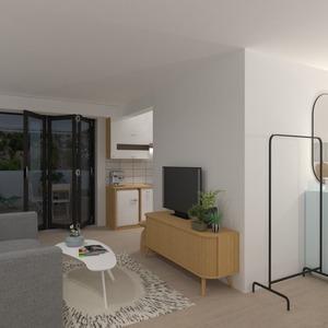 идеи квартира гостиная кухня идеи