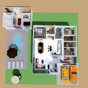 nuotraukos namas garažas eksterjeras аrchitektūra idėjos