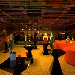fotos mobílias decoração cafeterias arquitetura ideias