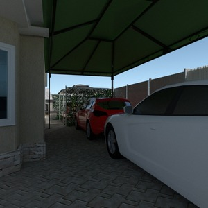 nuotraukos namas garažas eksterjeras kraštovaizdis idėjos