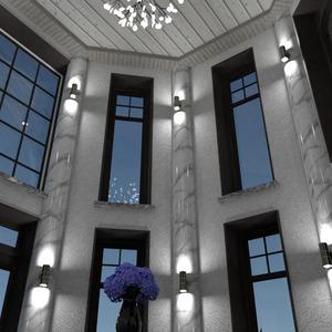 foto casa angolo fai-da-te illuminazione architettura vano scale idee
