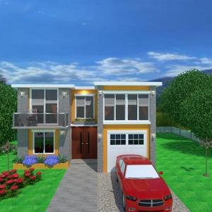 foto casa veranda decorazioni paesaggio famiglia idee