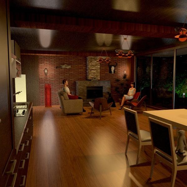 photos décoration cuisine maison salle à manger studio idées