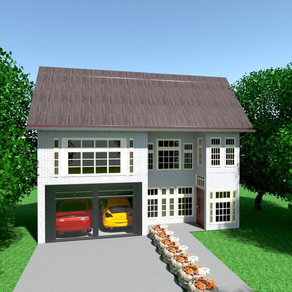 photos maison garage paysage architecture idées