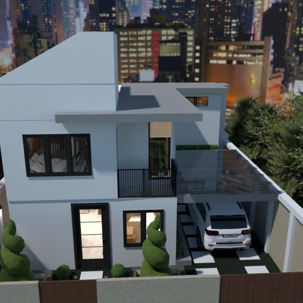 zdjęcia dom garaż krajobraz architektura pomysły