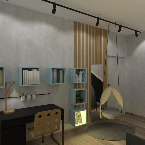 fotos apartamento mobílias decoração quarto infantil estúdio ideias