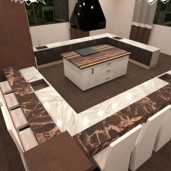 foto arredamento cucina illuminazione sala pranzo ripostiglio idee
