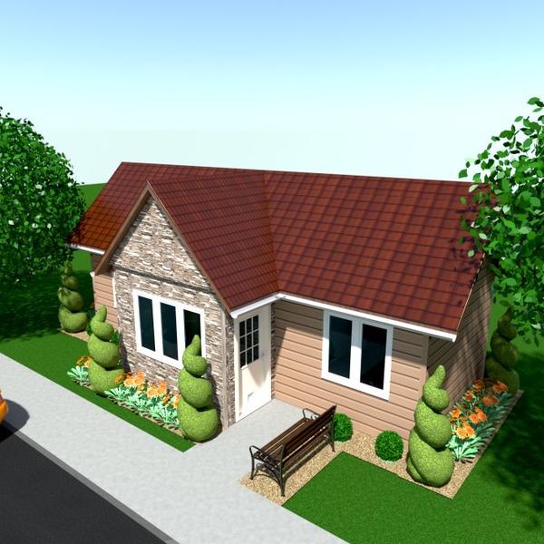 photos maison terrasse extérieur paysage architecture idées