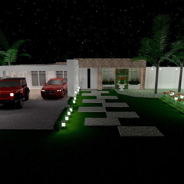 photos terrasse garage extérieur eclairage paysage architecture idées