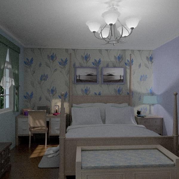 foto arredamento camera da letto illuminazione paesaggio idee