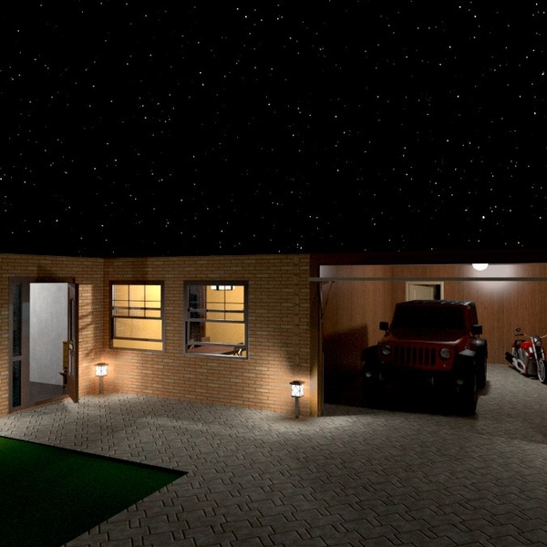 photos house terrace garage outdoor lighting ideas