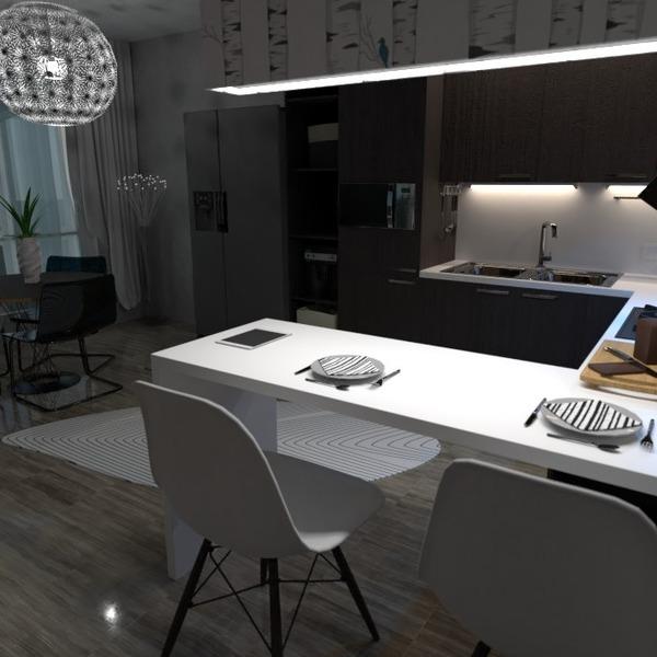 nuotraukos dekoras virtuvė apšvietimas idėjos