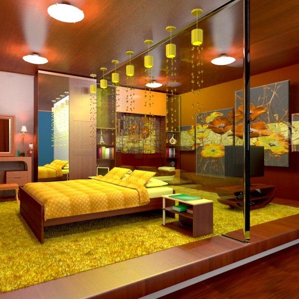 foto arredamento decorazioni angolo fai-da-te camera da letto illuminazione idee