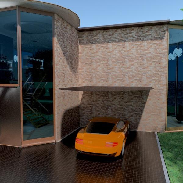 fotos casa garagem área externa arquitetura ideias