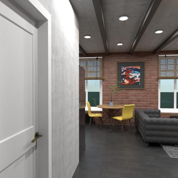 nuotraukos butas baldai dekoras apšvietimas studija idėjos