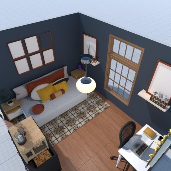 fotos mobílias decoração dormitório escritório ideias