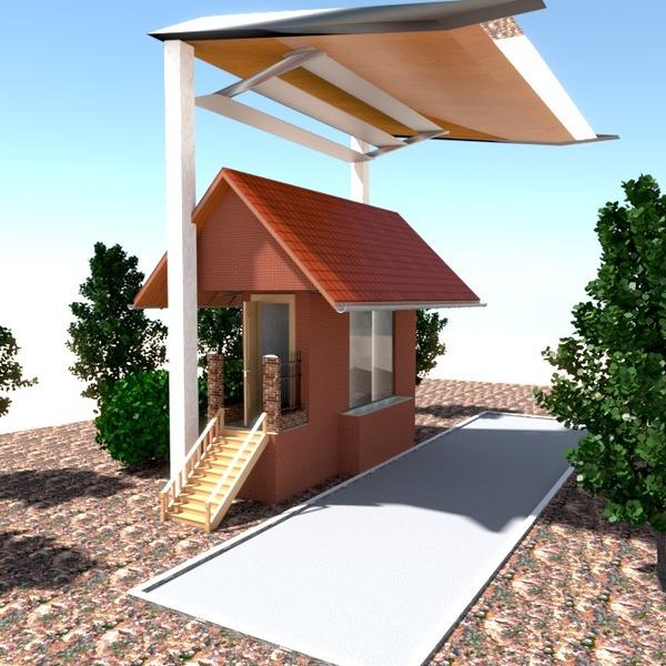 fotos casa exterior paisaje ideas