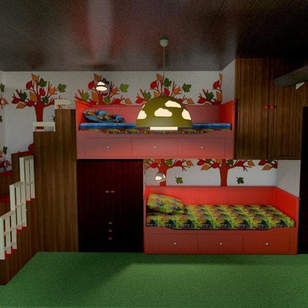photos meubles décoration diy chambre d'enfant rénovation idées