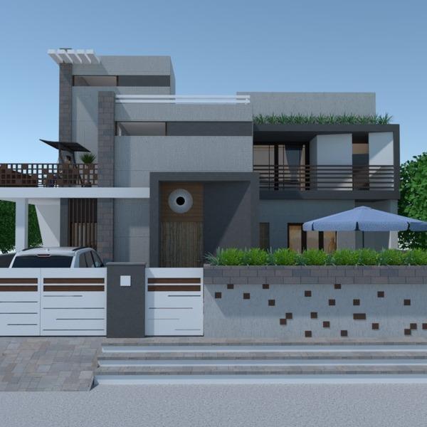 nuotraukos butas namas svetainė eksterjeras аrchitektūra idėjos