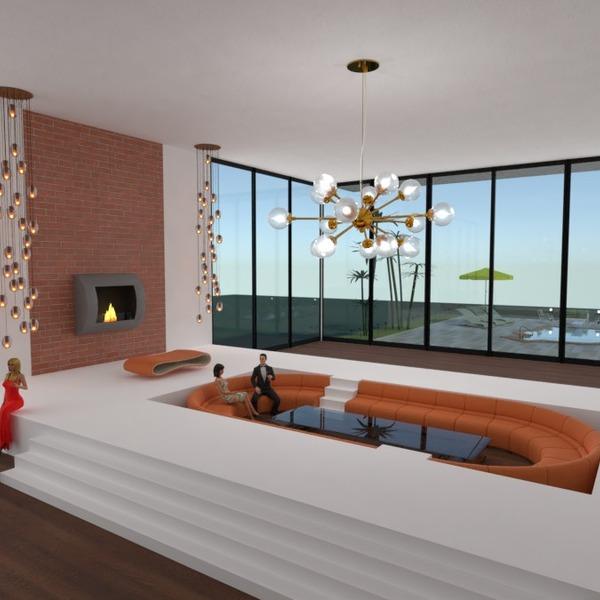 nuotraukos namas terasa baldai svetainė apšvietimas idėjos
