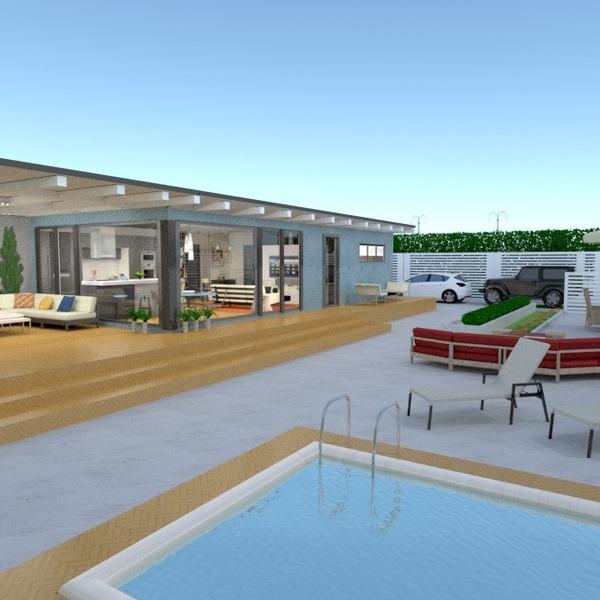 nuotraukos namas terasa baldai garažas apšvietimas kraštovaizdis prieškambaris idėjos