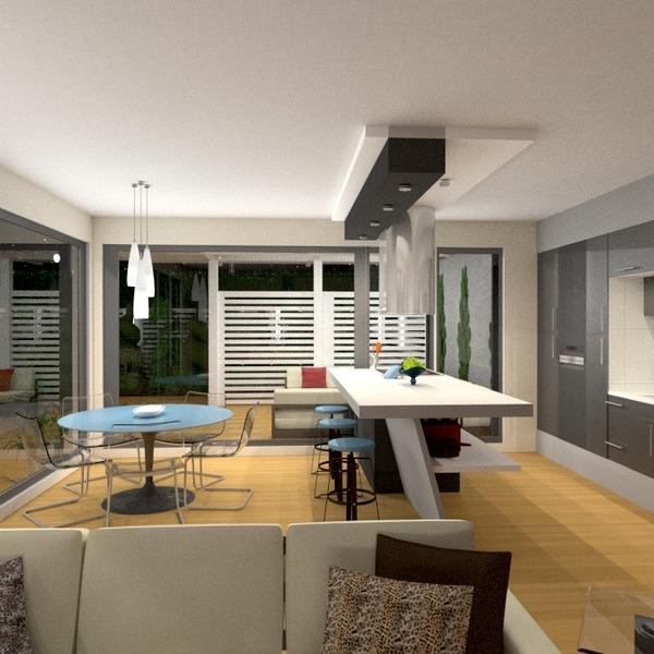 fotos faça você mesmo cozinha área externa iluminação paisagismo sala de jantar ideias