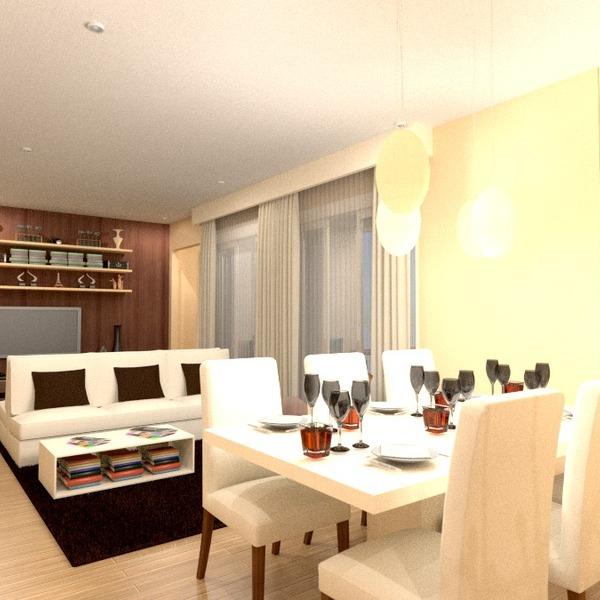 zdjęcia mieszkanie pokój dzienny jadalnia pomysły